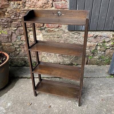 Oak Open Bookshelf