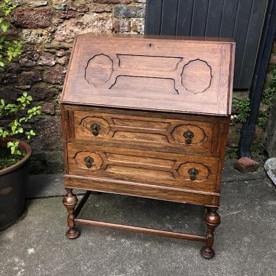 Old English Oak Bureau