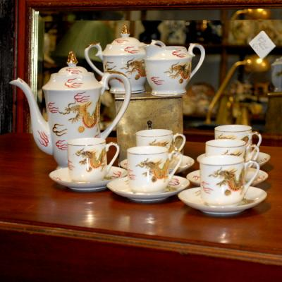Oriental Coffee Set