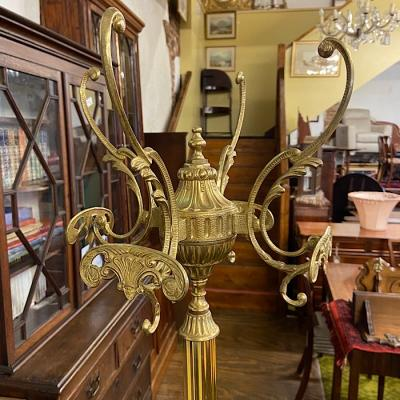 Ornate Brass Hat & Coat Stand