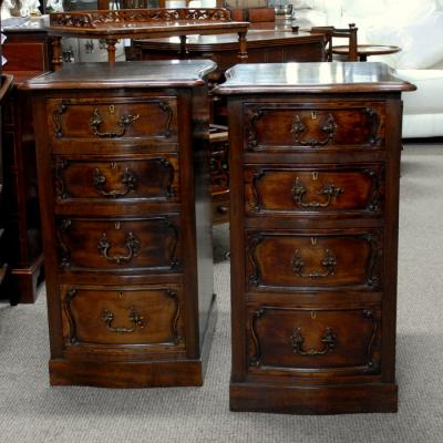 Pair of Victorian Chests