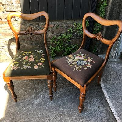 Pair of Victorian Dining Chairs
