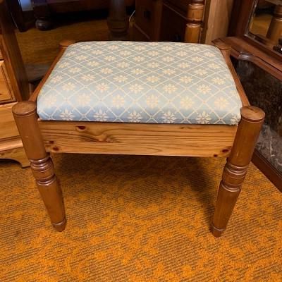 Pine Dressing Table Stool
