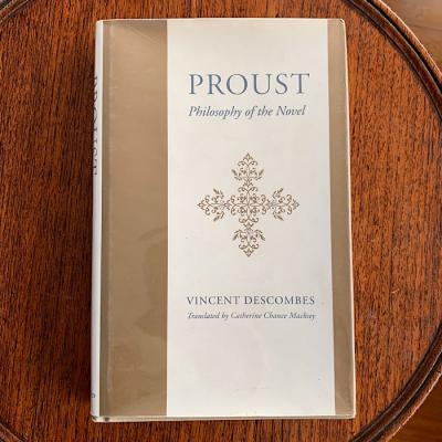 Proust Philosophy Of The Novel