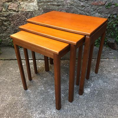 Retro Teak Next Of Tables