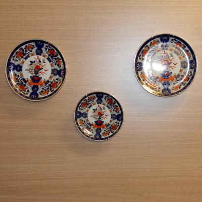 Set of 3 Chinese Plates