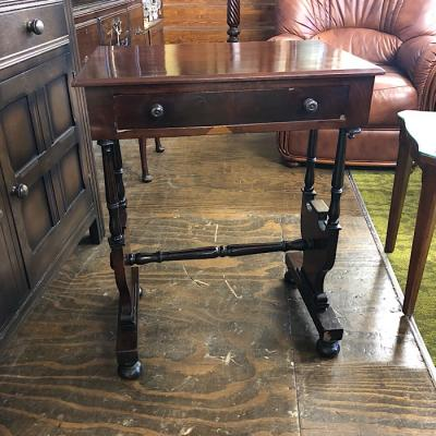 Single Drawer Occasional Table
