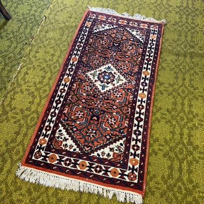 Small Indian Wool Rug