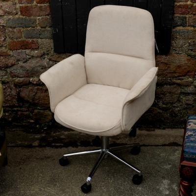 Stone Upholstered Office Chair