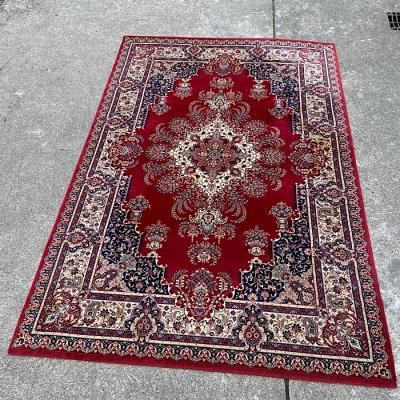 Traditional Large Rug Red & Cream