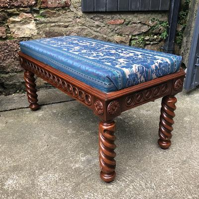 Upholstered Long Stool