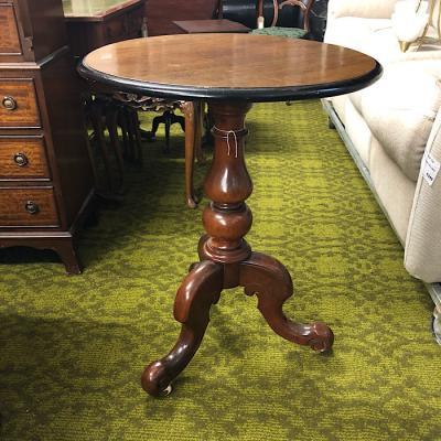 Victorian Mahogany Circular Occasional Table