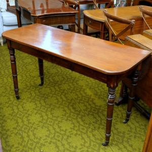 Victorian Mahogany Drop-Leaf Side Table