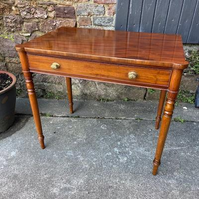 Victorian Mahogany Single Drawer Side Table By Gillows Of Lancaster