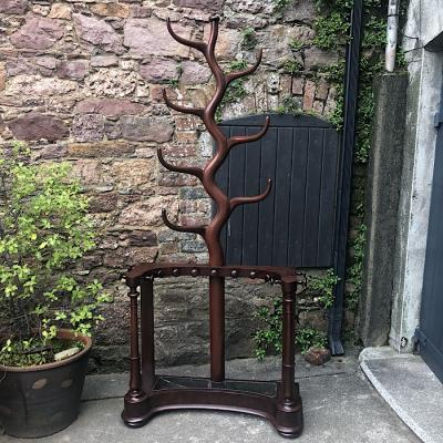 Victorian Mahogany Tree Branch Hall Stand