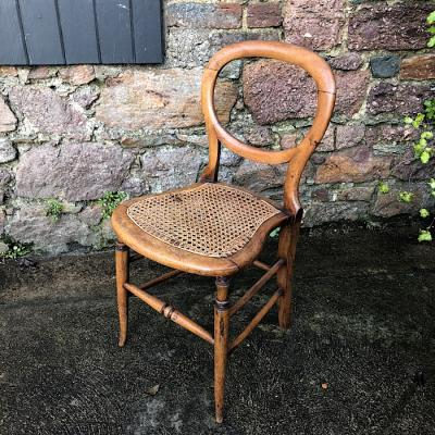 Victorian Style Balloon Back Dining Chair