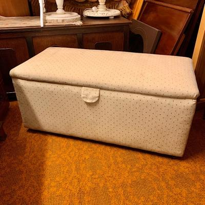 Victorian Upholstered Ottoman