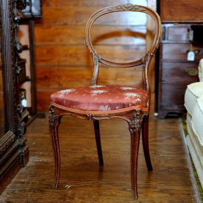 Victorian Balloon Back Dining Chairs