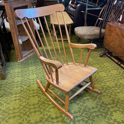 Vintage Beech Rocking Chair