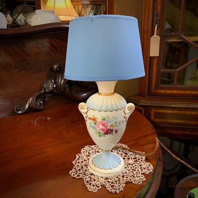 Vintage Crown Staffordshire Table Lamp