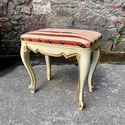 Vintage French Louis XV Style Foot Stool