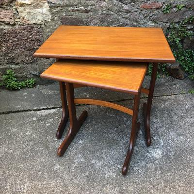Vintage G-Plan Nest Of Two Tables