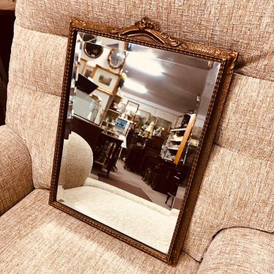 Vintage Gilt Framed Bevelled Mirror
