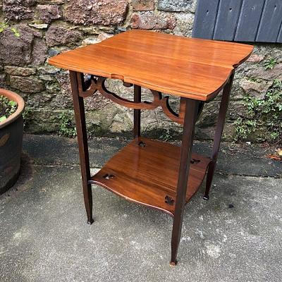Vintage Mahogany Occasional Table