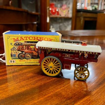 Vintage Matchbox Y-9 Model Showman'S Engine