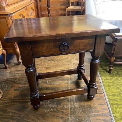 Vintage Oak Occasional Table