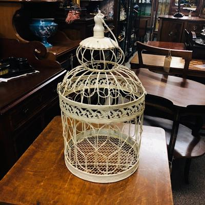 Vintage Style Bird Cage Large