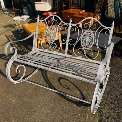 Vintage Style Rocking Bench