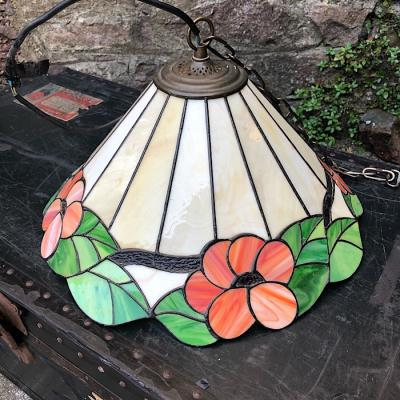 Vintage Tiffany Style Hanging Light