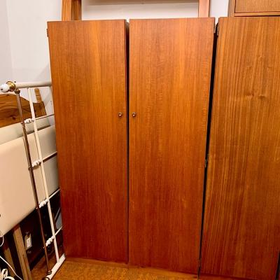 Vintage Two Section Wardrobe