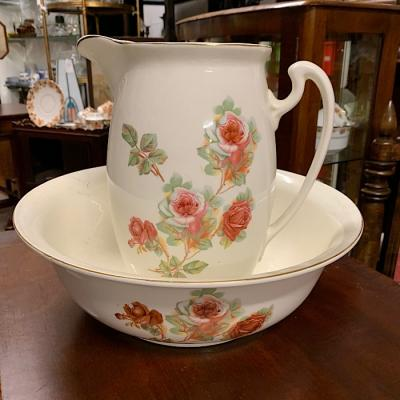 Vintage Wash Jug & Bowl