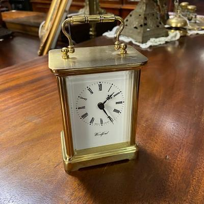 Weiss Clocks Brass Carriage Clock