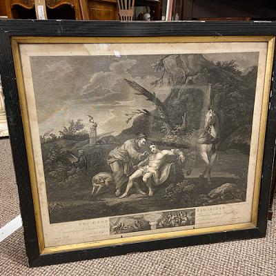 William Hogarth Engraving - The Good Samaritan